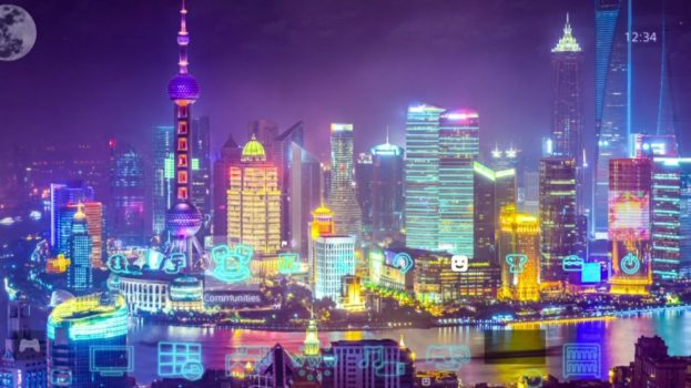 4k Amazing Cyber City