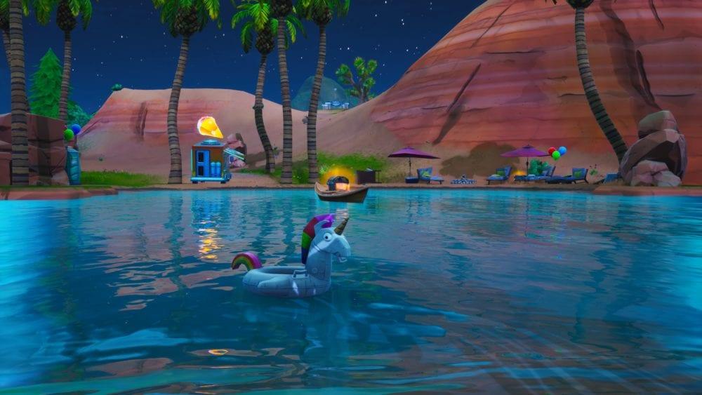 fortnite unicorn floaties locations