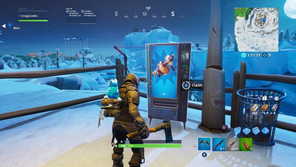 use vending machine