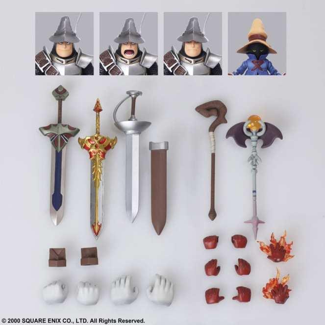 Final Fantasy XI Vivi Adelbert Figures (10)