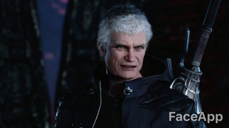 faceapp, nero, video game characters