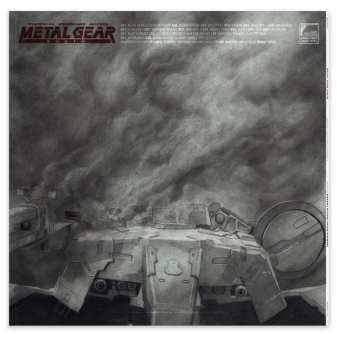 Metal Gear Solid Vinyl Soundtrack Comic Con 2019
