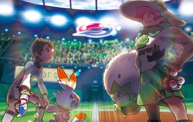 pokemon sword and pokemon shield, pokemon sword and shield screenshots, gym leaders, new pokemon