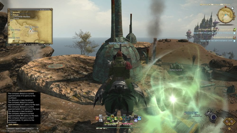 Ffxiv Shadowbringers All Aether Current Locations With Photos