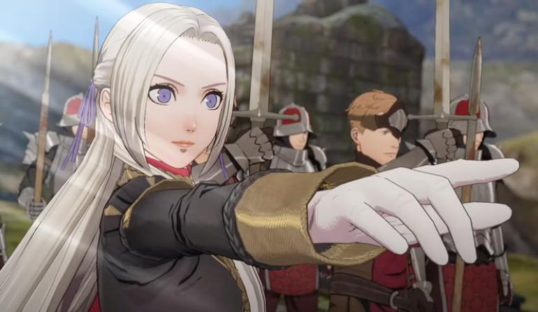 fire emblem three houses, black eagles