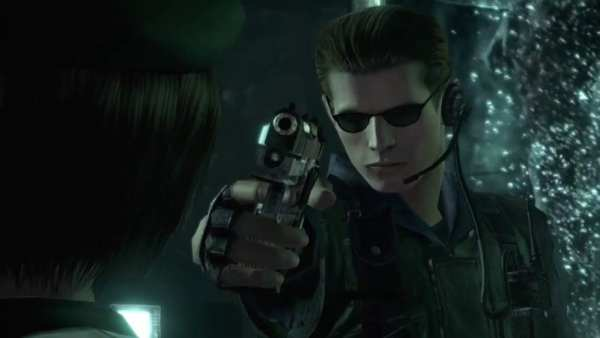 Albert Wesker betrayal in Resident Evil
