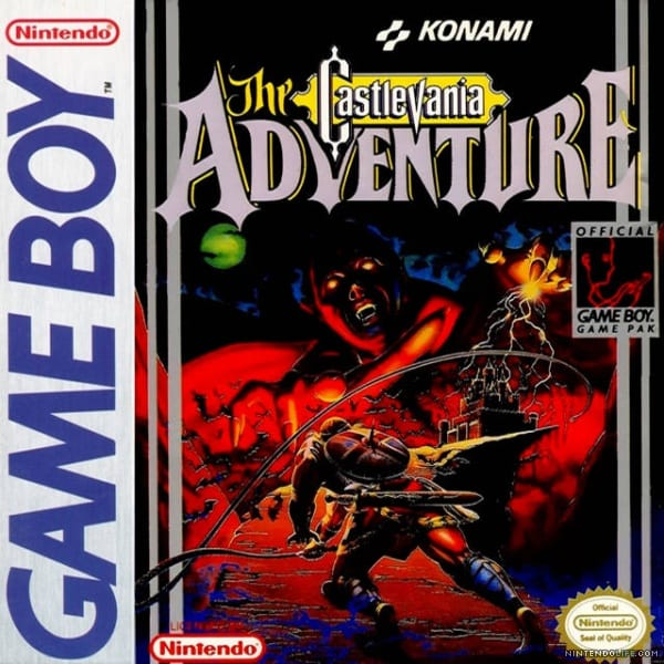 castlevania the adventure box art, bad games