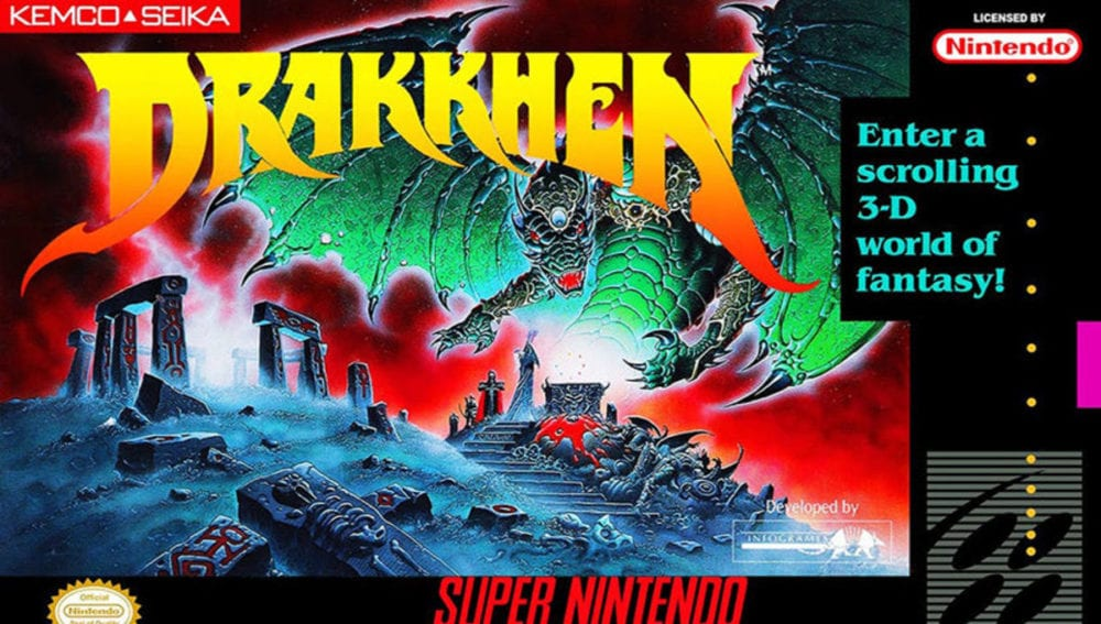 drakkhen box art