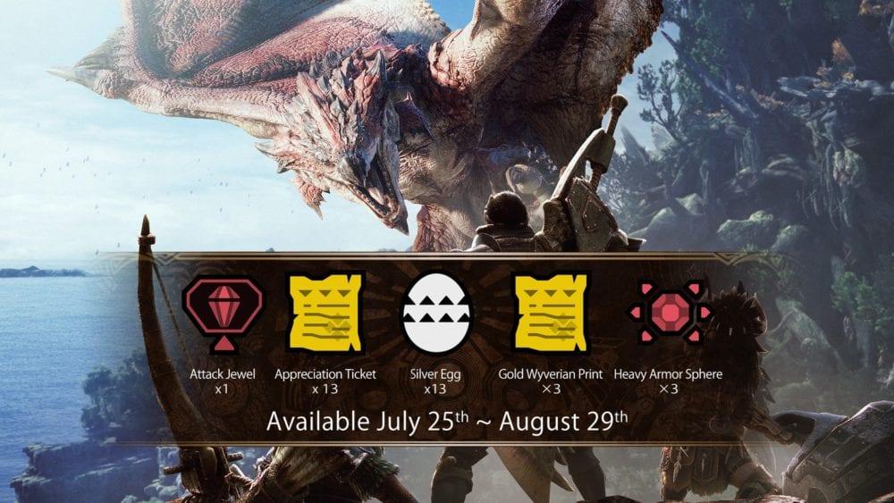 monster hunter 13 million units sold, special item pack