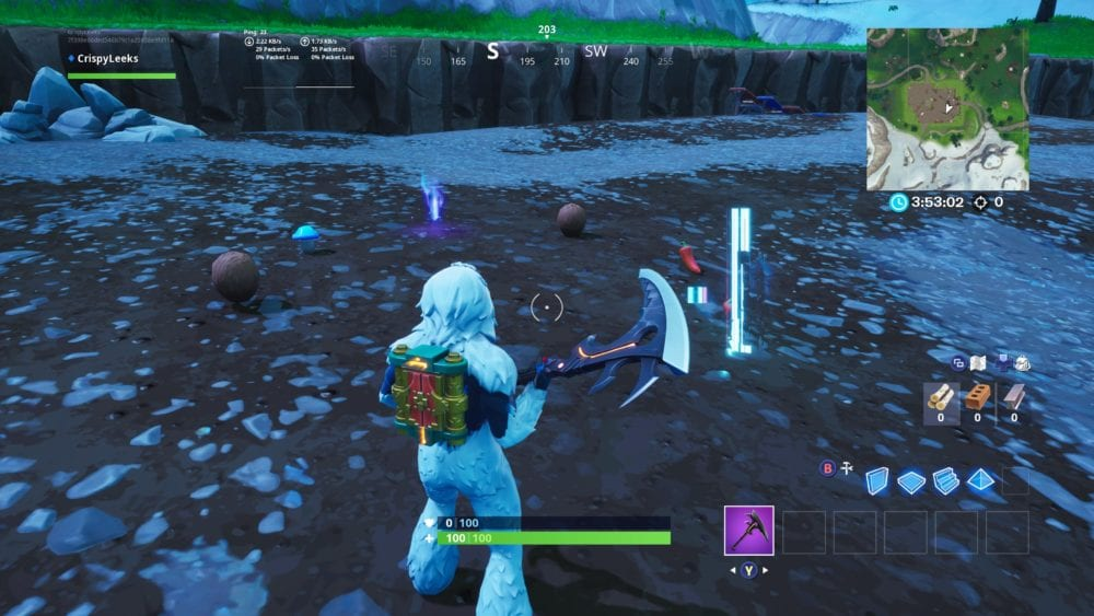 Fortnite caves slightly on the B.R.U.T.E. Mech