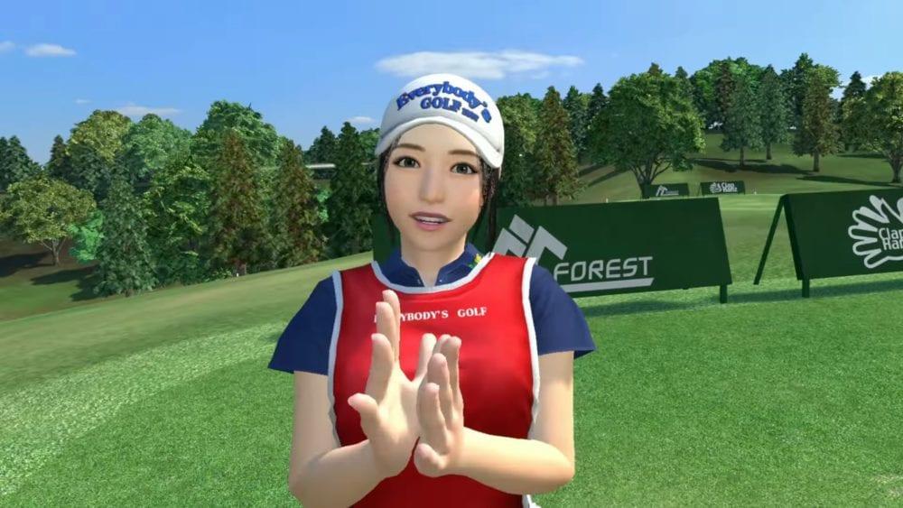 Everybody's Golf VR, psvr