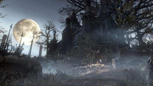 Hub World from Bloodborne