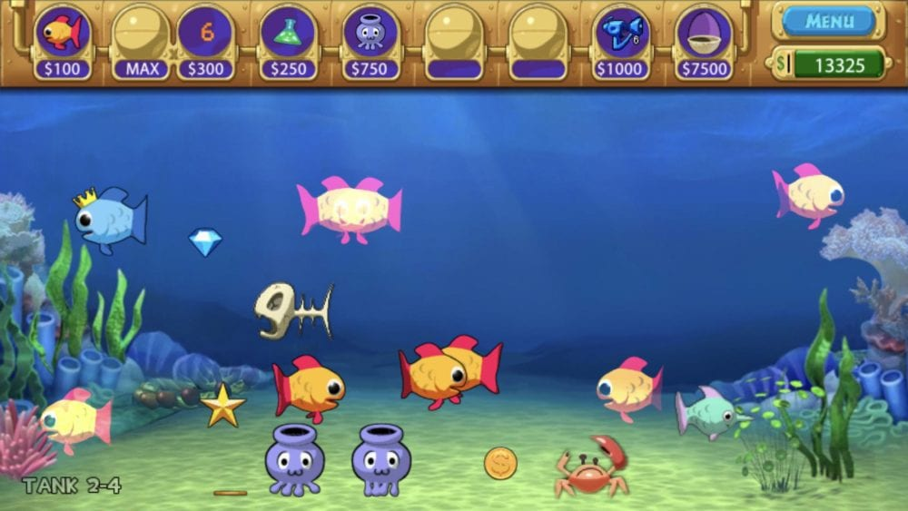 Insaniquarium, best underwater games