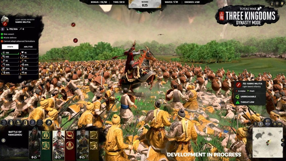 total war, three kingdoms, dynasty mode