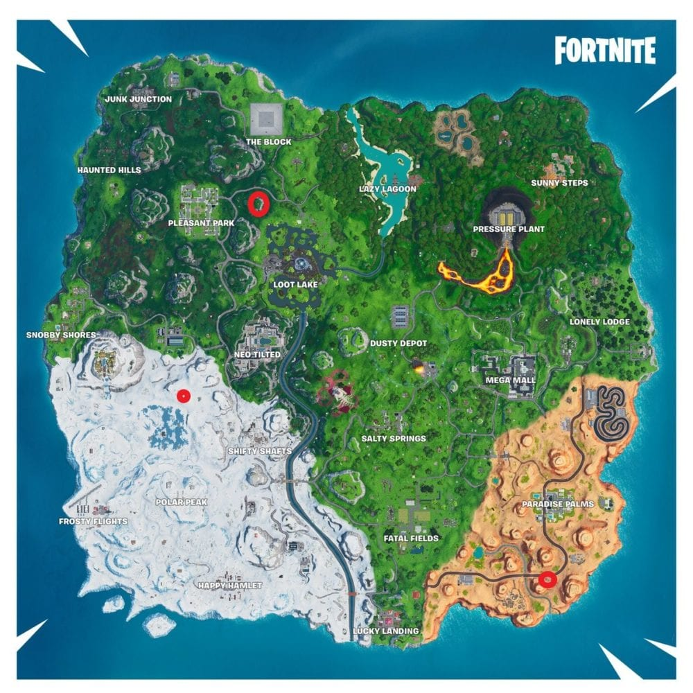 fortnite drift painted durr burger head stone head statue dinosaur location