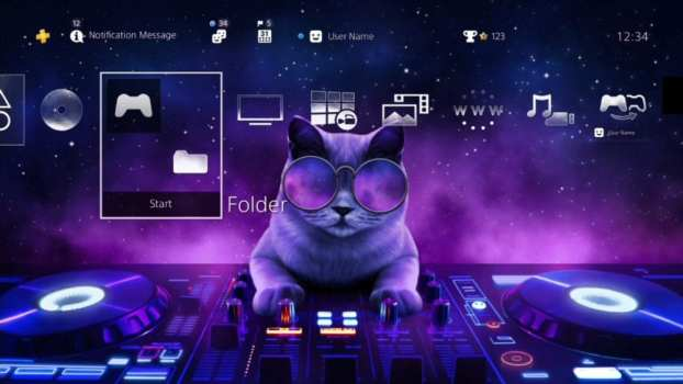 DJ Cat HiQ Dynamic Theme
