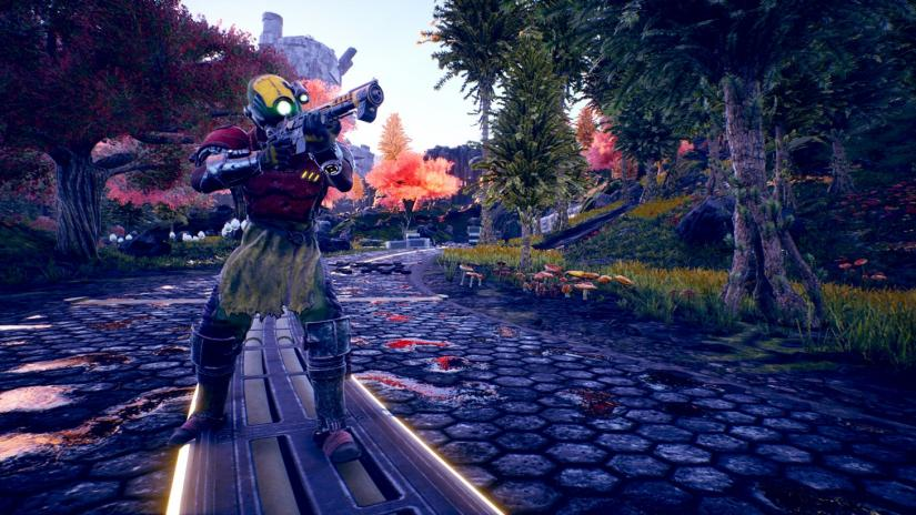 the outer worlds, preview, hands-on, demo