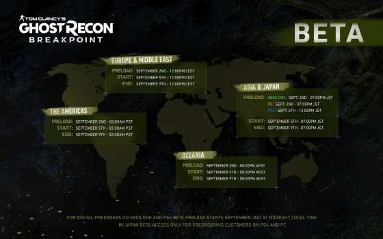 Ghost Recon Breakpoint Beta How to Get and Download