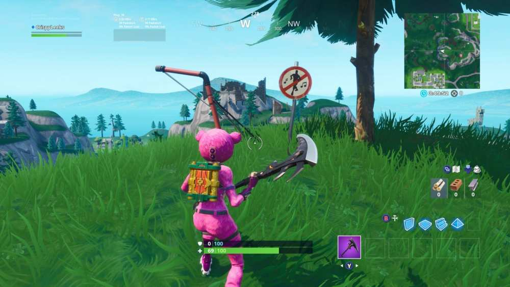 Fortnite No Dancing Sign Location