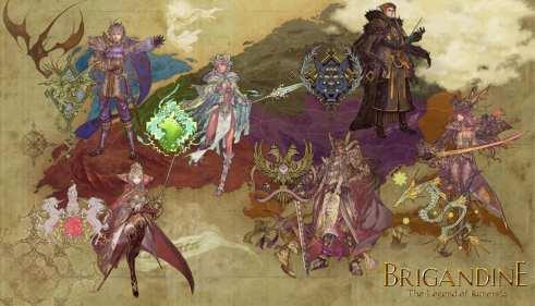 Brigandine The Legend of Runersia_6Monarchs