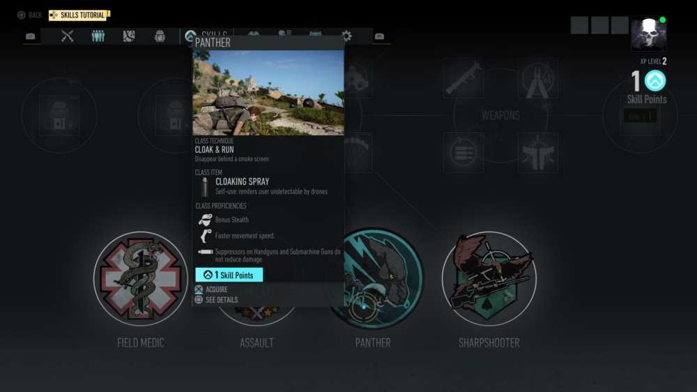 Ghost Recon Breakpoint ghost classes