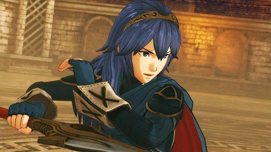 Lucina from fire emblem mod for monster hunter world