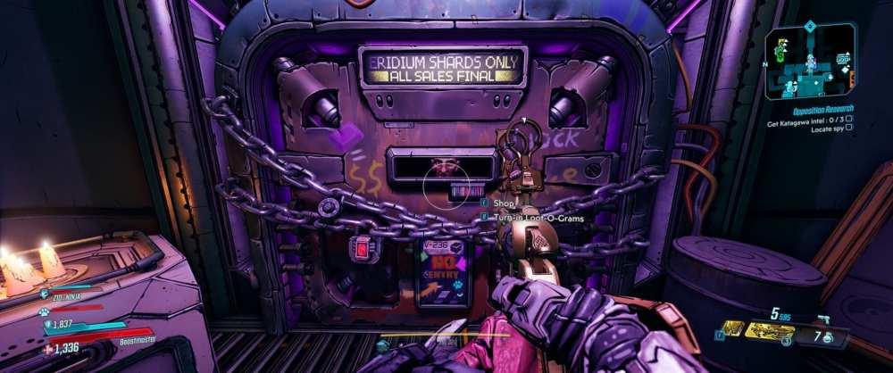 Borderlands 3 Dinklebot, loot-o-gram