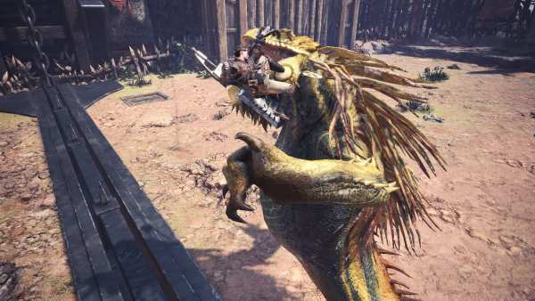 great jagras, clutch claw, monster hunter world iceborne expansion
