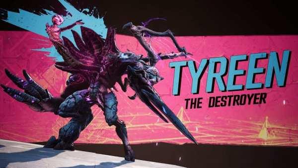tyreen the destroyer borderlands 3