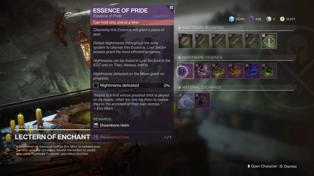 Destiny 2   Búsqueda de la esencia del orgullo