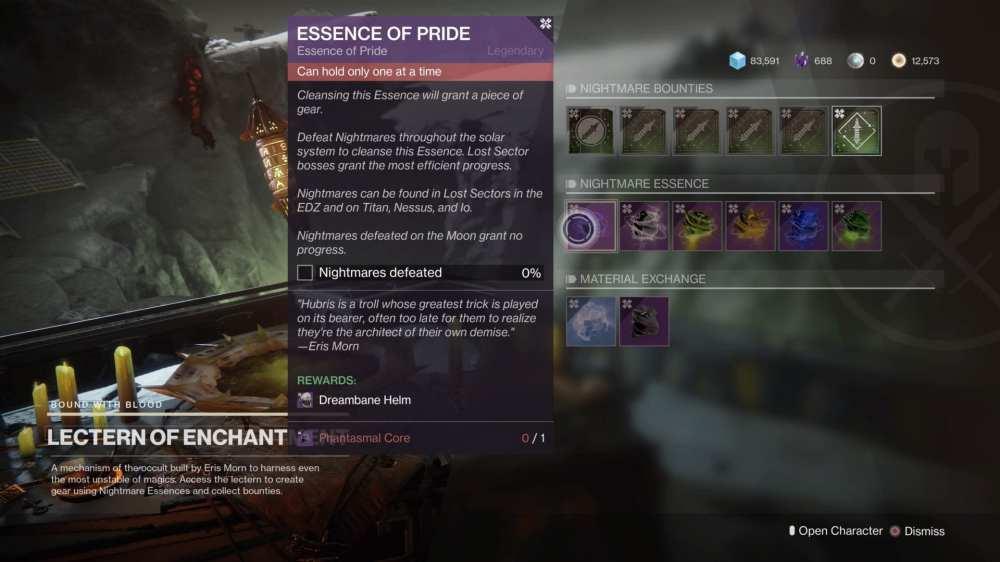 Destiny 2 Essence of Pride quest
