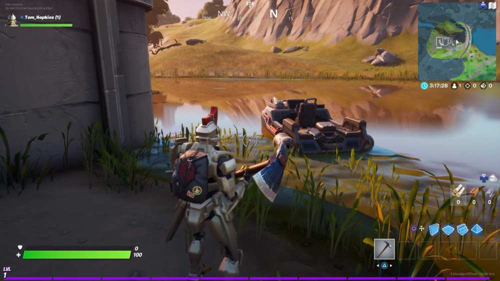 Fortnite chapter 2, motorboat locations