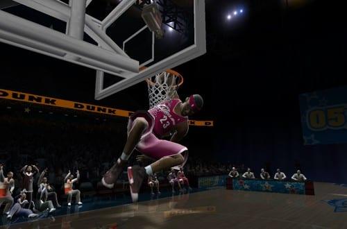 LIVE 2005 dunk contest