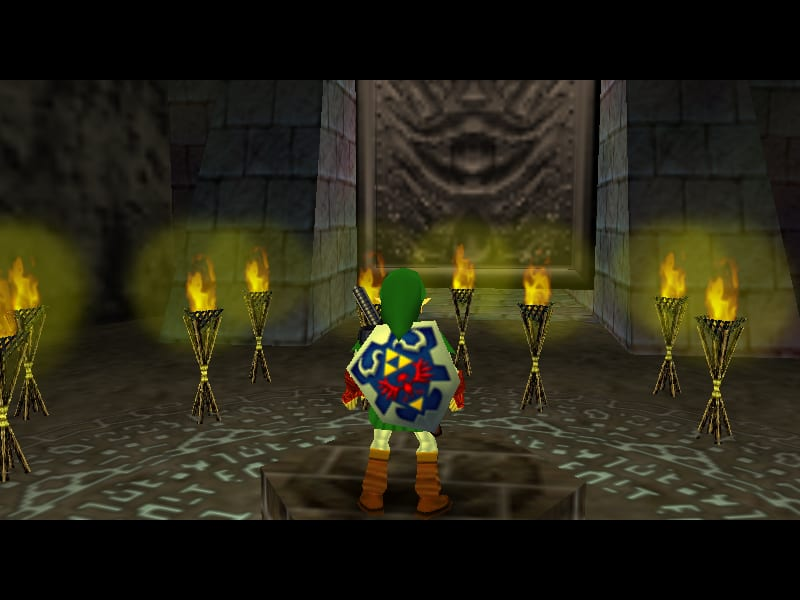ocarina of time, shadow temple, halloween levels, spooky
