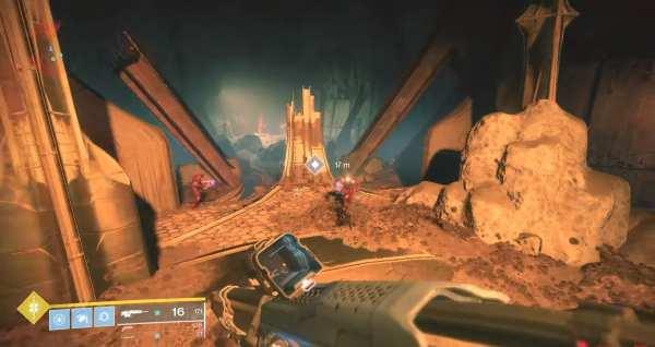 Destiny 2   Ubicación del filamento necromático