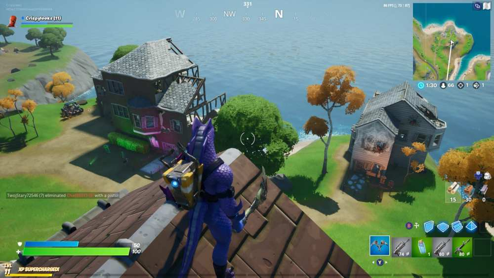 fortnite ghost town location