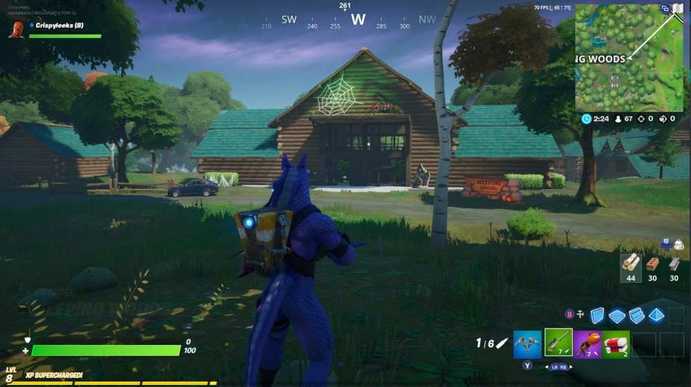Fortnite haunted forest location