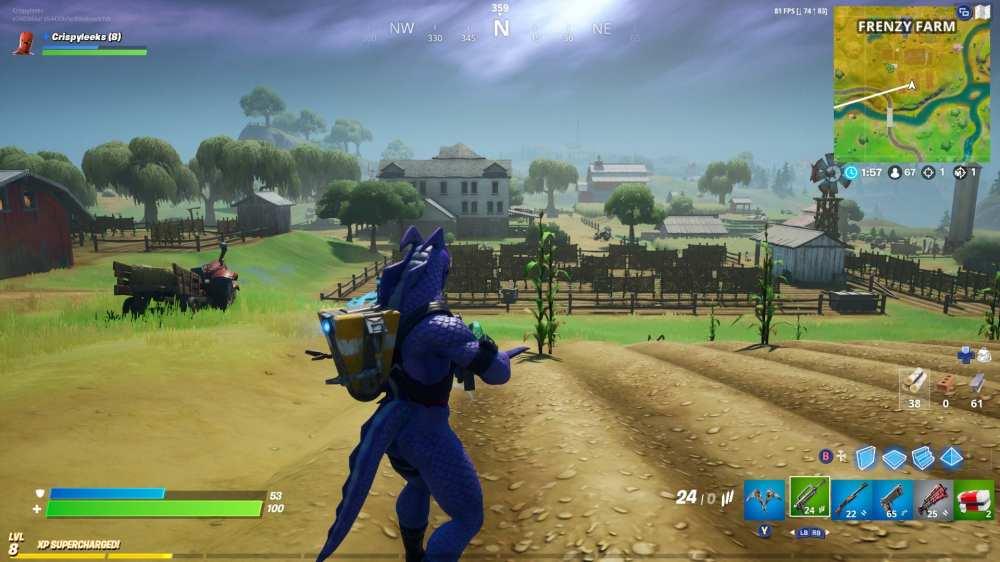 Fortnite spooky farm location