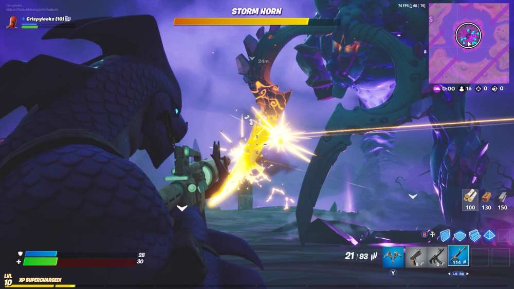 Fortnite Storm King, how to beat storm king in Fortnite