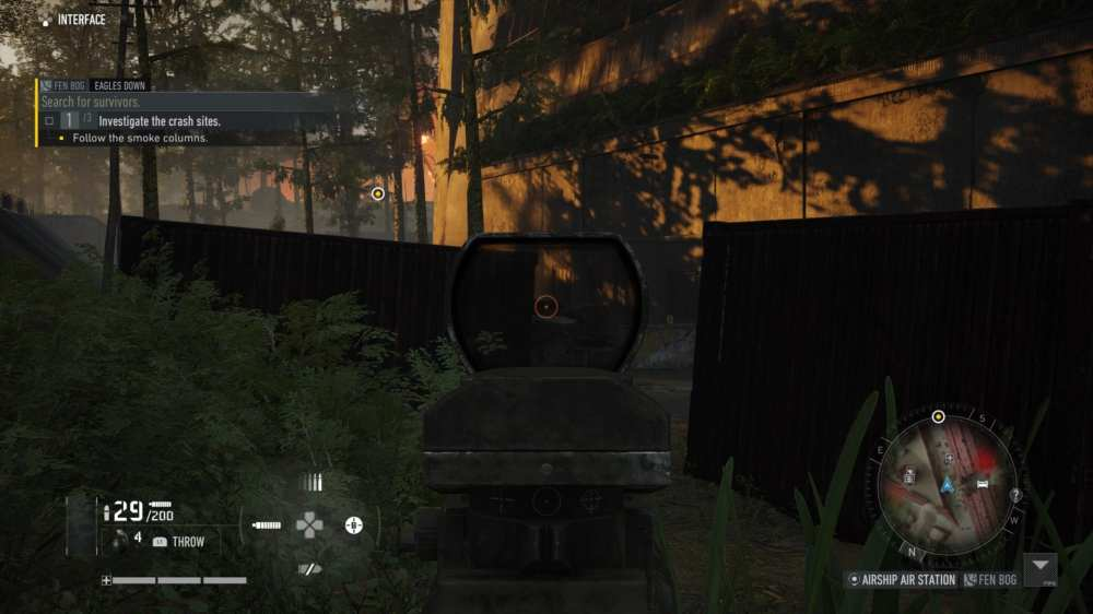 Change weapon reticle in Ghost Recon Breakpoint