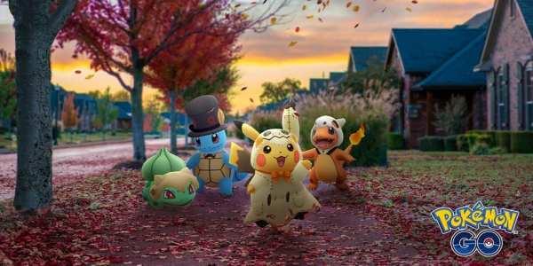 pokemon go, Halloween