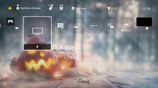 Halloween Dynamic Theme
