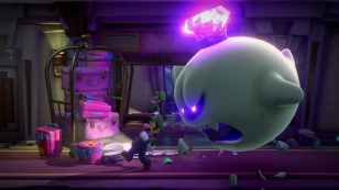 luigi's mansion 3 preview, television, docked mode