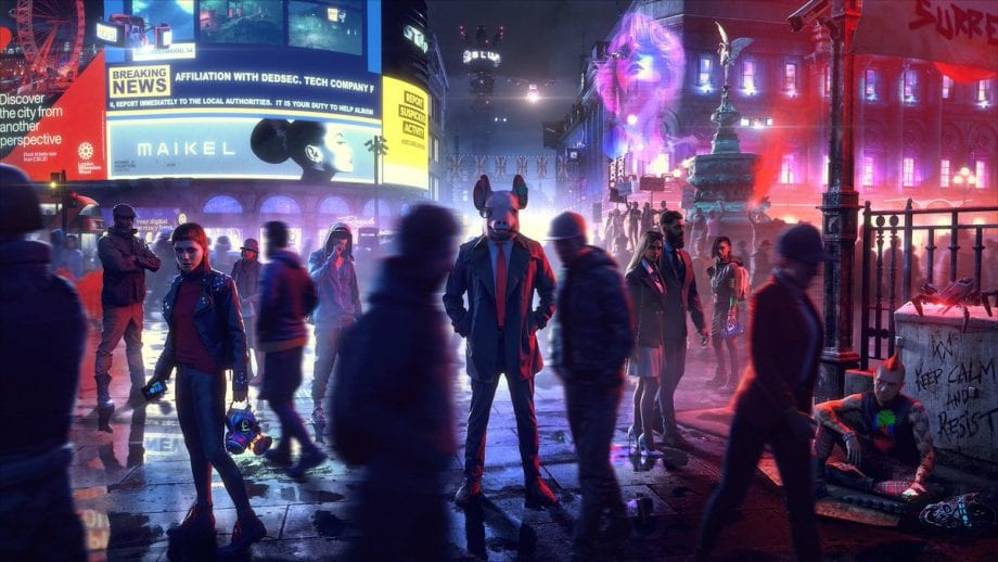 new ps4 games, watch dogs legion