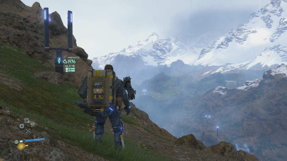 death stranding, open-world exploration