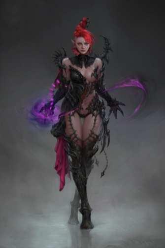 Kingdom Under Fire 2 Dark Sorceress (2)