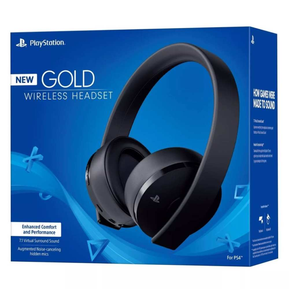 gold wireless, ps4