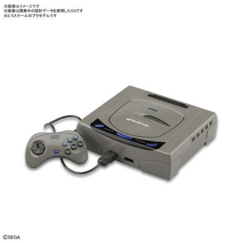 PlayStation Saturn Model Kit Bandai (5)