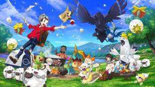 pokemon sword and shield review