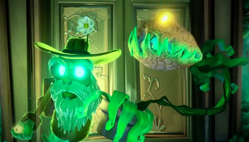 dr potter, luigi's mansion 3